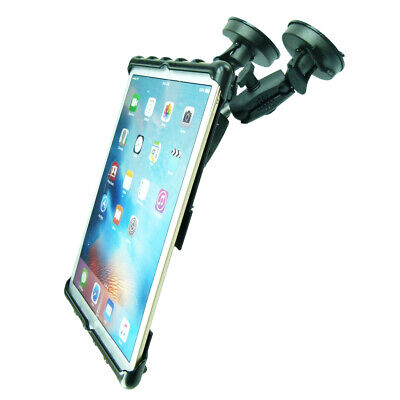 Adjustable Double Heavy Machinery Windshield Suction Mount For IPad PRO 12.9 • 72.99£