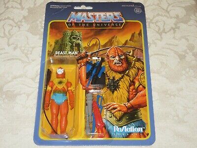 $27.97 • Buy Super7 ReAction MOTU Masters Of The Universe Beastman With Weapons Action Figure