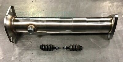 PLM 2.5  Telescopic 3pc Test Pipe W/ Springs Bolts For 88-00 Civic 90-01 Integra • 74.95$
