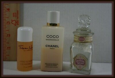Vintage Lot Of 3 Coco Chanel, Camille Beckman, Avon Lavender For Display Only  • 19.66$
