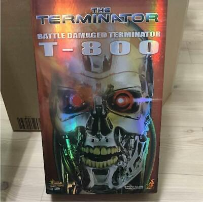 AU453.87 • Buy Hot Toys Terminator Battle Damaged T 800 American Comic Movies Limited Edition