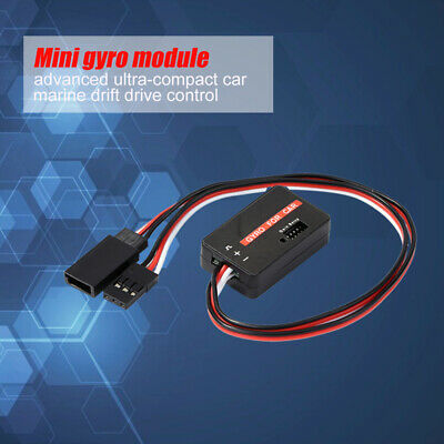 $8.33 • Buy GYC300 Mini Gyro Module Ultra-compact Car Accs For FUTABA JR Sanwa Hi-tec GWS FS