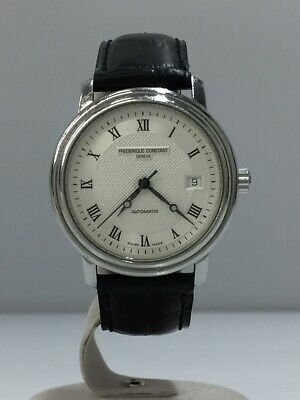 FREDERIQUE CONSTANT FC-303 Dial Leather Band Automatic Analogue #003794 • 450$
