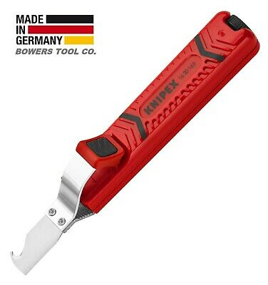 $ CDN38.75 • Buy Knipex Cable Stripper Dismantling Tool Knife 6-1/2  8-28mm 5/16 -1 1/8  1620165