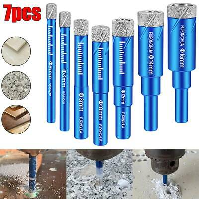 5mm-16mm Dry Diamond Coated Core Hole Saw Drill Bit Glass Granite Marble Tile US • 6.19$