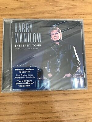 BARRY MANILOW This Is My Town (2017) 10-track CD Album NEW/SEALED • 1.50£