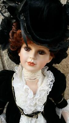$ CDN39.19 • Buy A21 27  Victorian Porcelain Doll Redhead Timeless Collection
