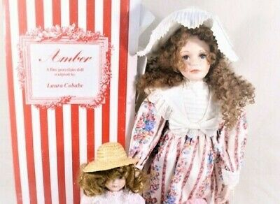 $ CDN63.10 • Buy A21 28  LOT Bisque Porcelain Ltd Ed Doll Hamilton Collection Laura Cobabe + Gift