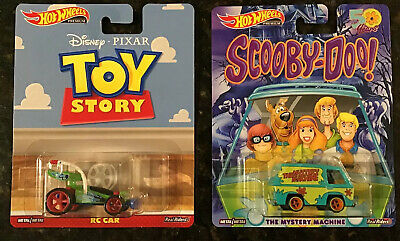 2019 Hot Wheels Premium Toy Story- RC Car, Scooby-Doo The Mystery Machine,VHTF👀 • 23.50$