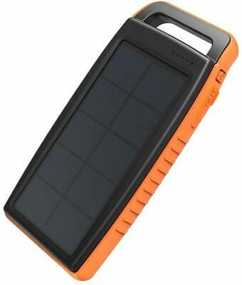 AU70.05 • Buy Solar Charger RAVPower 15000mAh Outdoor Portable Charger Solar Power Bank Dual