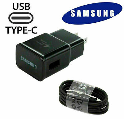 $ CDN13.33 • Buy Samsung Wall Charger And Type-C Cable For Samsung Galaxy S8 S9 S10