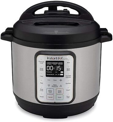 $118.99 • Buy Instant Pot - Duo Evo Plus 6-Quart Multi-Use Pressure Cooker - Stainless Stee...