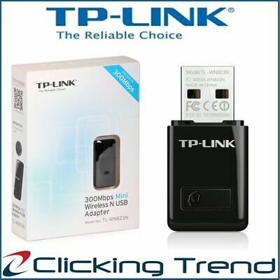 AU19.95 • Buy TP-Link Wireless 300 Mbps USB Adapter Computer PC Wi-Fi Network Adapter Dongle