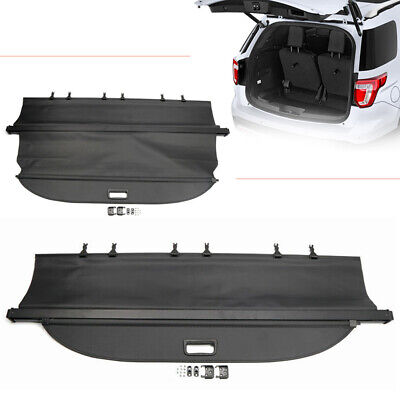 $99.80 • Buy Rear Trunk Cargo Cover Security Shield Shade Fit Ford Explorer 2011-2017 Black