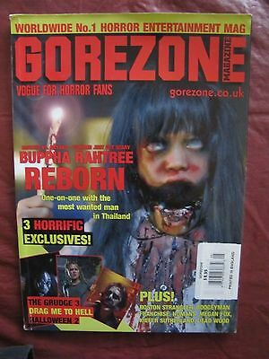 $10 • Buy Gorezone # 43 Buppa Rahtree Reborn, Drag Me To Hell, Halloween 2 & The Grugde 3