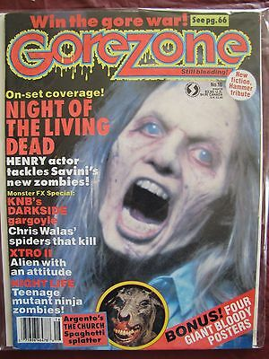 $15 • Buy Gorezone # 16 With Intact Posters.