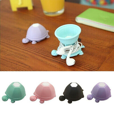 $1.89 • Buy Cute Turtle Desktop Earphone Cable Cord Organizer Wire Winder Phone Stand Holder