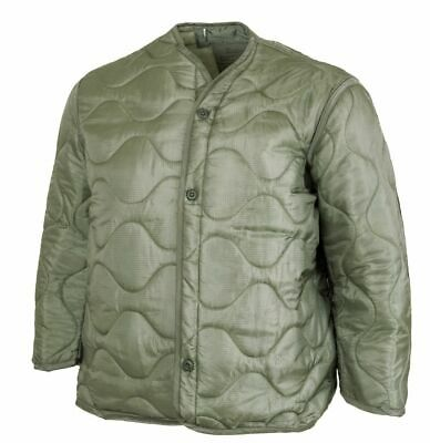 $34.95 • Buy Genuine Military Issue NEW W/Buttons Cold Weather M-65 Field Jacket Liner, Large