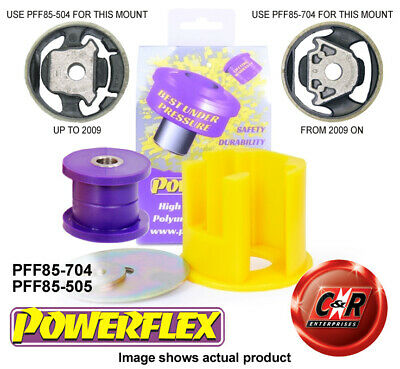 AU102.27 • Buy VW Passat B6 B7 Mid08-12 Powerflex Low Engine Mount Bush Kit PFF85-704/PFF85-505
