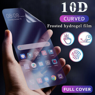 $ CDN3.86 • Buy 10D Hydrogel Film For Samsung Galaxy Note 10 Plus S10 S9 Matte Screen Protector