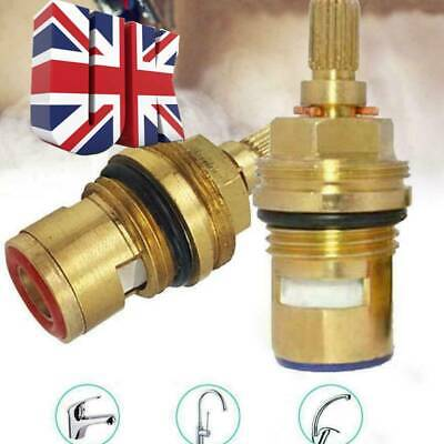 2X Replacement Tap Cartridge Valve Ceramic Disc Gland Quarter Turn 20 Teeth 1/2  • 6.31£