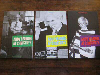 $49.99 • Buy ANDY WARHOL At CHRISTIE'S, Set Of 3 POLAROIDS, Paintings, Prints