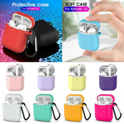 $ CDN3.50 • Buy AirPods Silicone Case + Keychain Protective Cover Skin For New AirPod Case 2 & 1