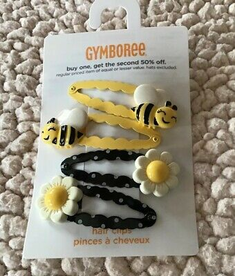 $13.95 • Buy Gymboree Bumble Bee Chic Line Barrette/Clip NWT Yellow Snap Vintage Hive VHTF