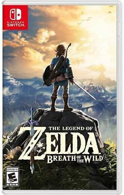 $56.99 • Buy The Legend Of Zelda: Breath Of The Wild - Nintendo Switch Games