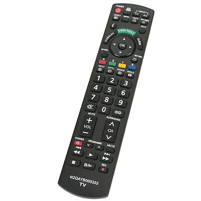 AU15.97 • Buy N2QAYB000352 Remote For Panasonic Viera LCD TV TH-P50X10A THP50X10A TH-L32G10A