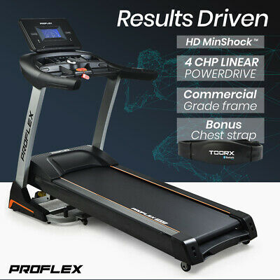 AU909 • Buy 【EXTRA20%OFF】PROFLEX Treadmill Running Machine Foldable Fitness Home Large