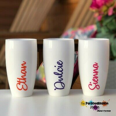 £6.50 • Buy  Personalised, Plastic Tumbler/Glass - Hen, Birthdays, Party - More Colours Too!