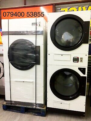 ADC D50 23kg Commercial Industrial Gas Laundry Dryer Ipso Mile Coin Operated • 2,000£