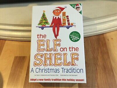 AU43.92 • Buy Elf On The Shelf : A Christmas Tradition Blue-Eyed Boy Light Skinned Scout Elf