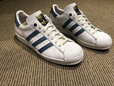 $ CDN125 • Buy ADIDAS SUPERSTAR 80s CONSORTIUM White- Grass Snake 023016 Size 9US
