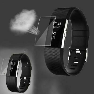 $ CDN3.38 • Buy HD Screen TPU Protector For Fitbit Charge 2 Band Smart Youth Watch Ultra Thin