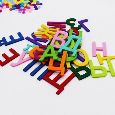 £6.31 • Buy Felt  Alphabet Letters For Sewing Cloth Felts Craft 3MM Thick Felt  Fabric For S
