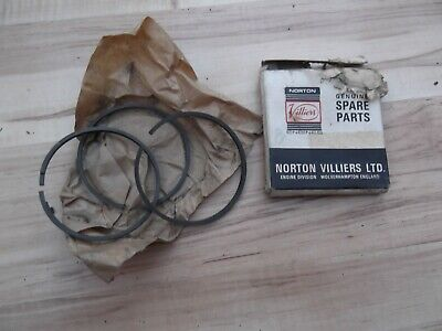 Norton Villiers Piston Rings Vintage Engine Parts - Garage Find • 12.99£