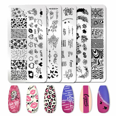 $1.59 • Buy PICT YOU Nail Art Stamping Plates Valentine's Day Letter Stamp Stencil Templates