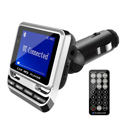Bluetooth Car Kit MP3 Player Handsfree 2.0 Box Retail With Control Remote LCD • 22.39£