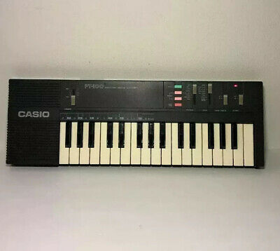 $32 • Buy Vintage CASIO PT-100 32-key Electronic Synthesizer Keyboard Cordless Tested