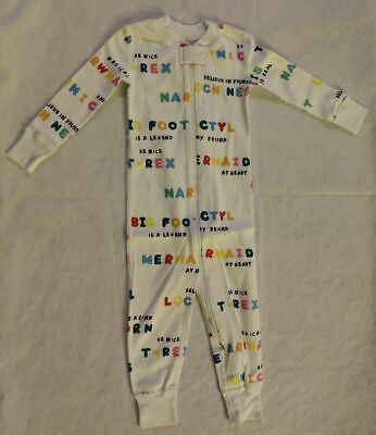 $22.99 • Buy NWT Hanna Andersson Magical Creatures Sleeper 1PC Pajamas 80 18-24 Months