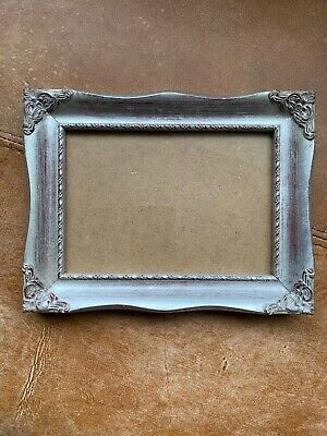 Beautiful Silver Gilt Photo Picture Swept Frame Rococo Baroque Style 5 X 7 • 20.69£