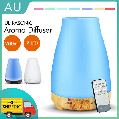 AU13.49 • Buy LED Essential Oil Humidifier Ultrasonic Diffuser Aroma Aromatherapy Air Purifier
