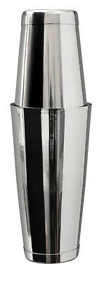 Beaumont Mezclar Stainless Steel 28oz/18oz Tin On Tin Boston Cocktail Shaker • 7.74£