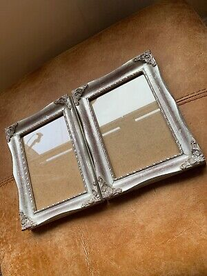 Beautiful Pair Silver Gilt Photo Picture Swept Frame Rococo Baroque Style 5 X 7 • 33.29£