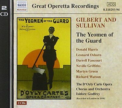Gilbert & Sullivan: Yeomen Of The Guard -  CD CQVG The Cheap Fast Free Post The • 3.79£