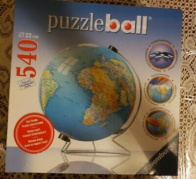 $17.95 • Buy **BRAND NEW & SEALED** Ravensburger ~ Puzzle Ball 540 Pieces - The Earth 3D