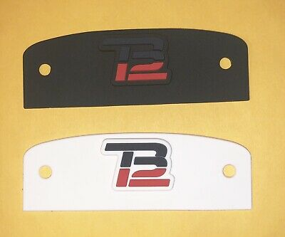 $10 • Buy TB12 Patriots Front 3D Bumper For Authentic Speed Helmet(Choose One Only) Brady