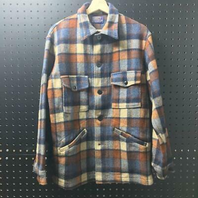 PENDLETON Jacket Coat Outer Men's M Size Plaid With Pocket Genuine From Japan • 186.82£